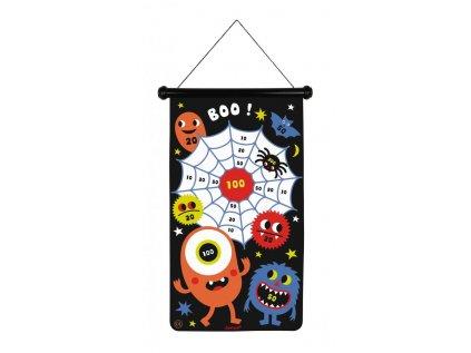 J02076 Magneticky hra Terc a sipky pre deti Priserky Janod 1