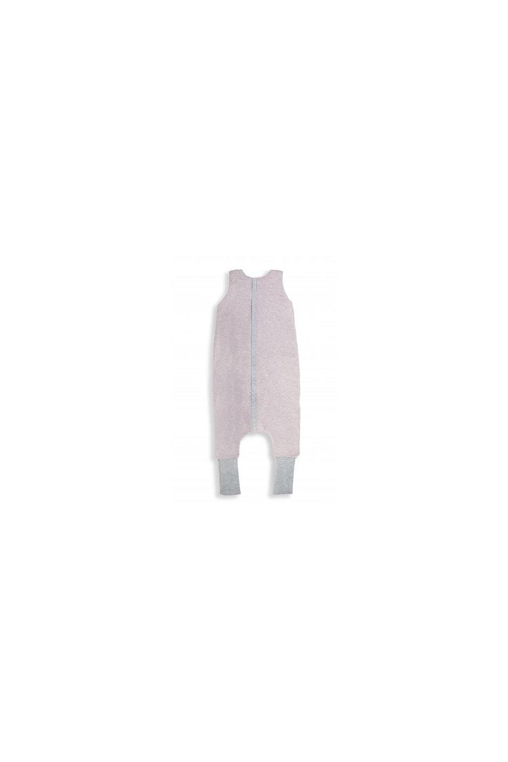 Oboustranný spací pytel s nohavicemi Sleepee Melange Pink