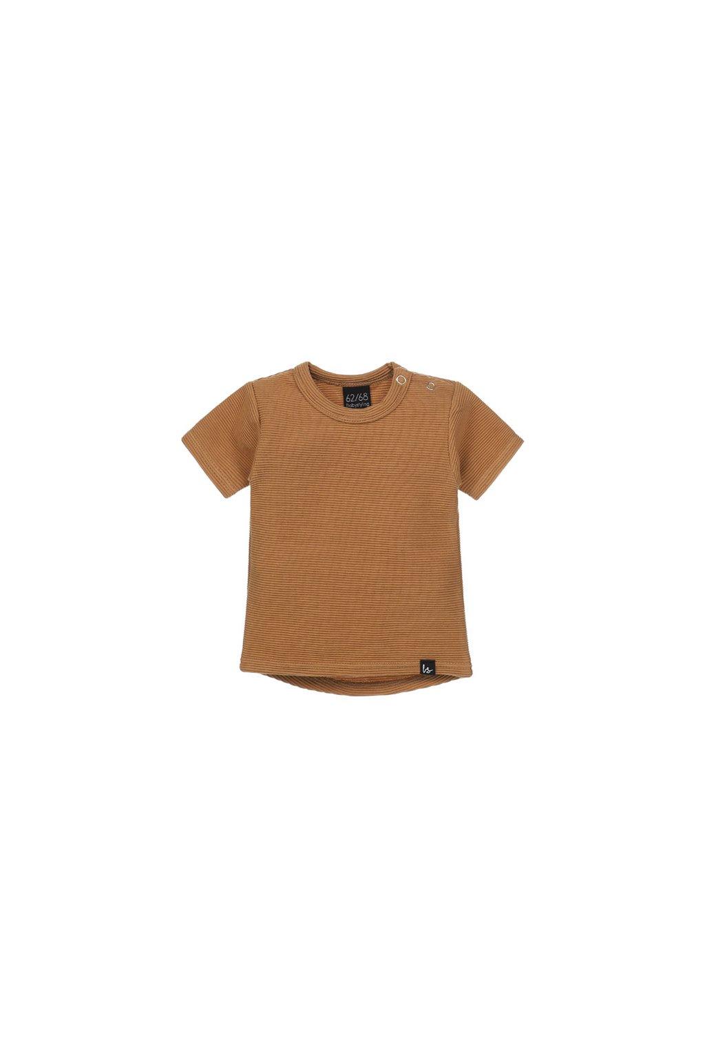 rib t shirt camel babystyling