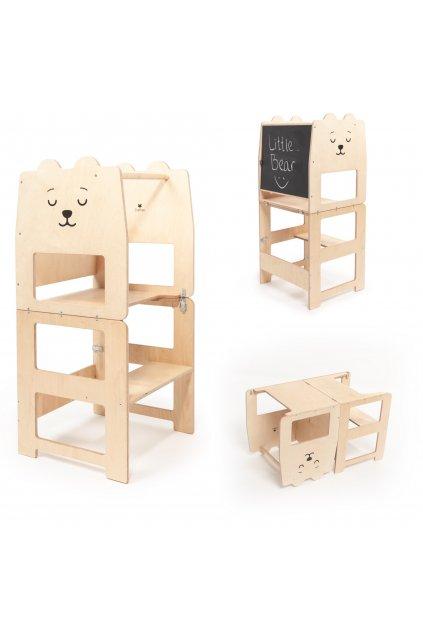 Multifunkční učící věž medvěd by Craffox