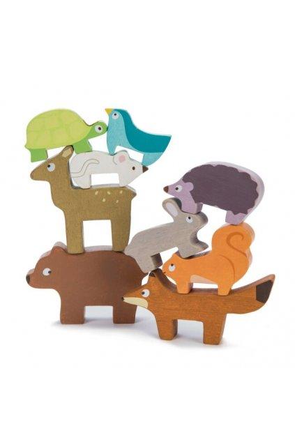 Le Toy Van Petilou Skládací věž zvířátka