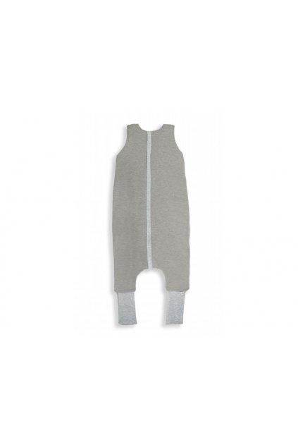 Oboustranný spací pytel s nohavicemi Sleepee Melange Grey