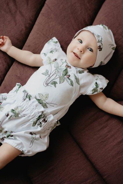 WUF KIDS Dětská čepička bez podšívky - jahoda