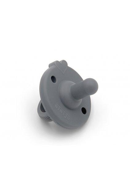 Mimijo šedý silikonový dudlík