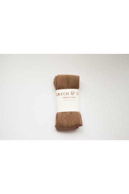 Grech & Co. dětské punčocháče z organické bavlny