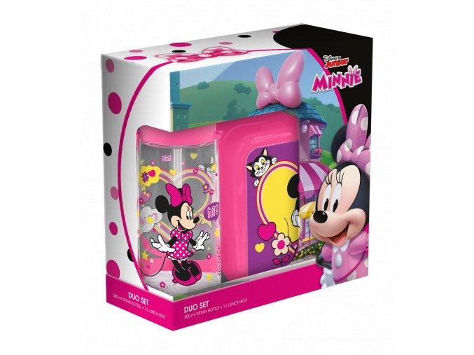 Desiatový box + fľaša Minnie