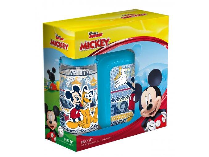 Desiatový box + fľaša Mickey