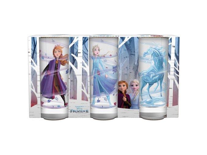 Sada 3 pohárov Frozen