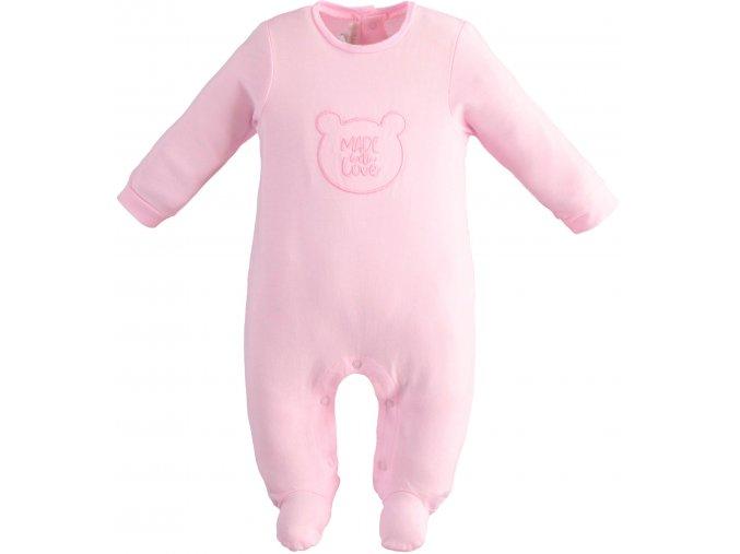 Overal s medvídkem růžová Minibanda