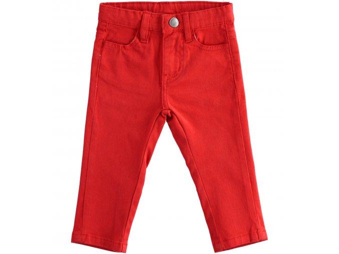 Kalhoty s kapsami červené Sarabanda