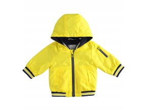 Bunda s kapucí žlutá Minibanda