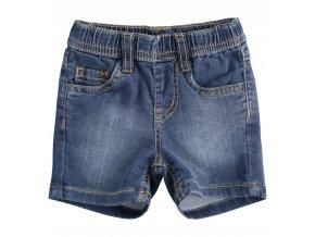 Džínové kraťasy s packou tmavě modré Minibanda