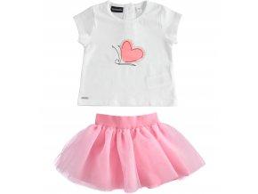 Set sukně a triko růžová Sarabanda