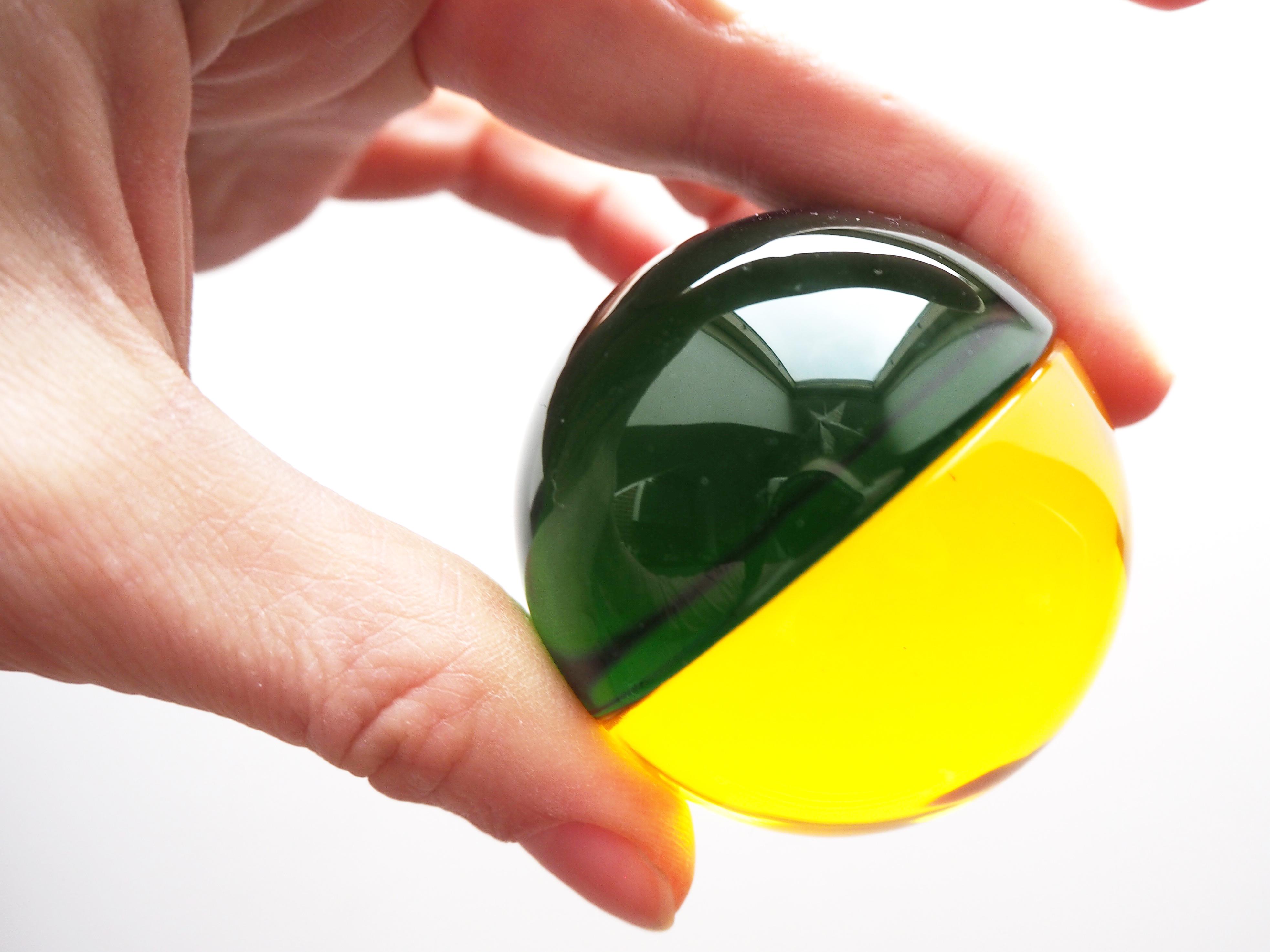 Sensory -  barevné půlkruhy - jak si hrát?