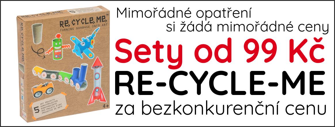 Re-cycle-me za skvělou cenu