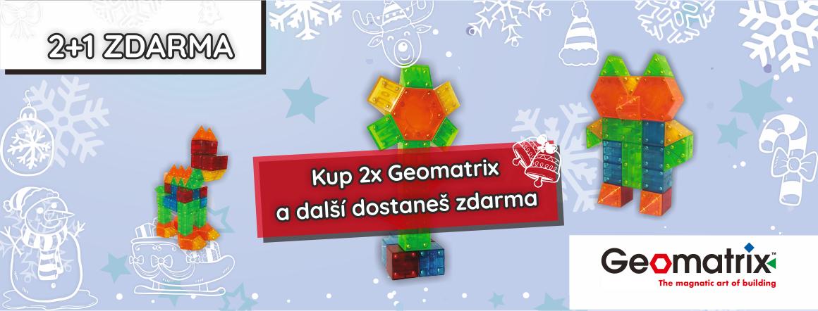 Vánoce Geomatrix 2+1