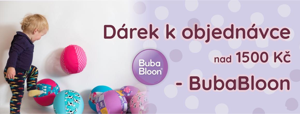 BubaBloon k objednávce nad 1500 Kč zdarma