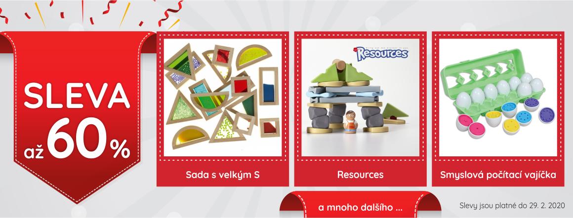 Výprodej hraček - slevy až 60 %