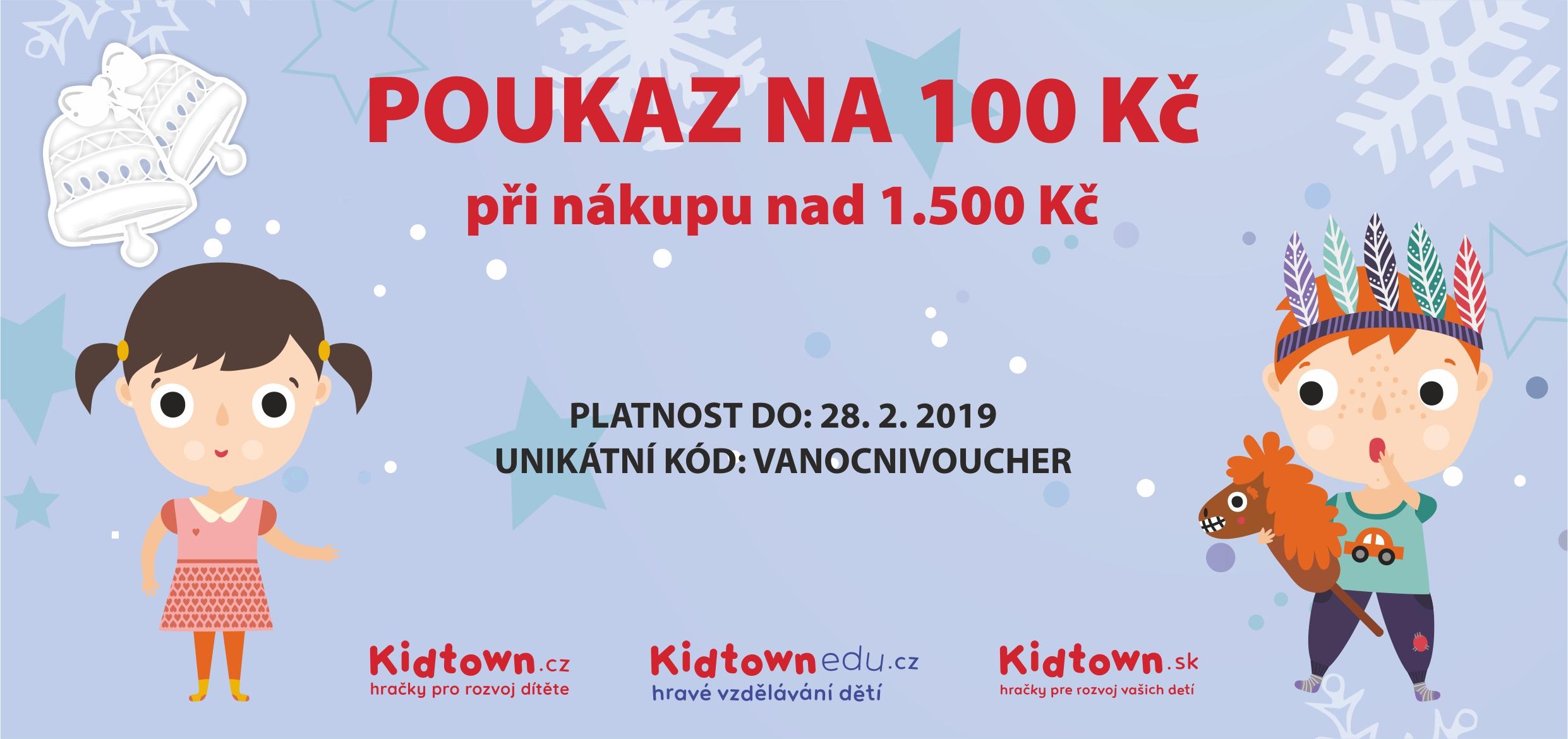 Kidtown_voucher100_vanoce