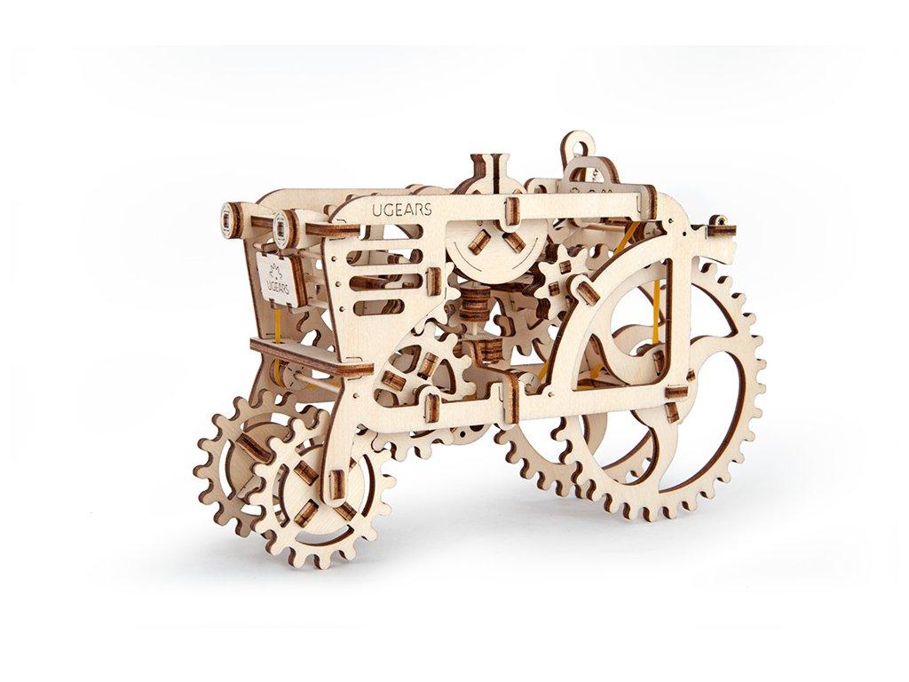 3D stavebnice UGears - traktor