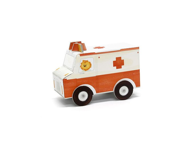 Poskládej si auto - ambulance