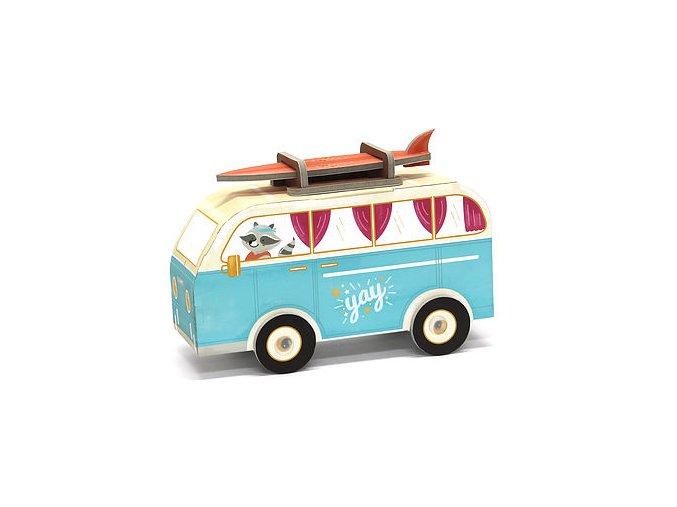 Poskládej si auto - karavan