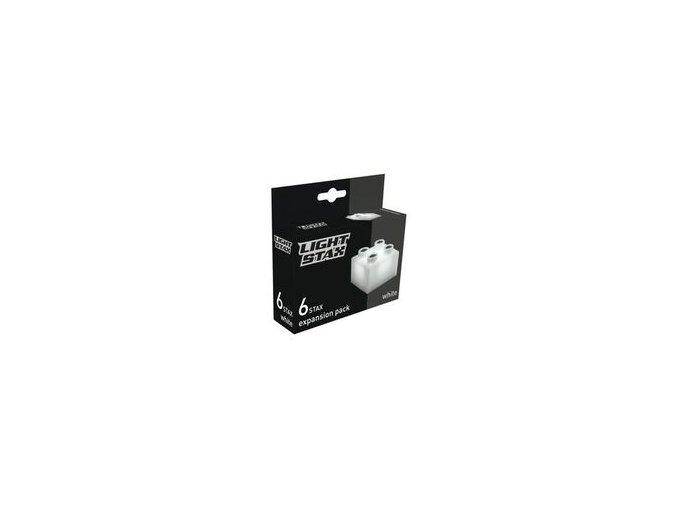Light Stax rozšiřující set - bílá 6 ks