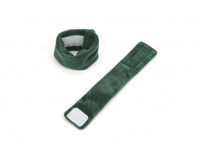 10658 weighted wristbands dark green