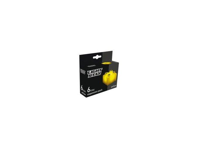 Light Stax rozšiřující set - žlutá 6 ks