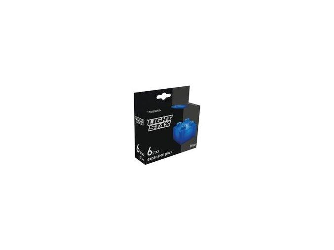 Light Stax rozšiřující set - modrá 6 ks