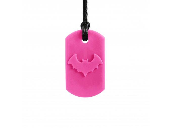 CHEWELRY BAT žvýkací přívěsek Netopýr Růžová