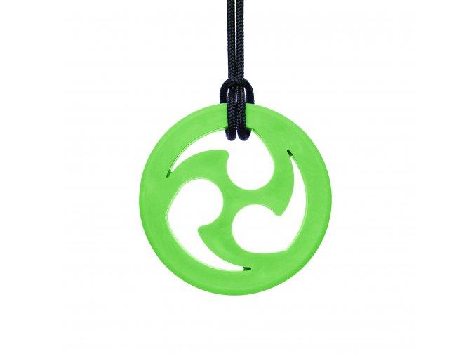 NINJA STAR žvýkací přívěšek XT Světle zelená