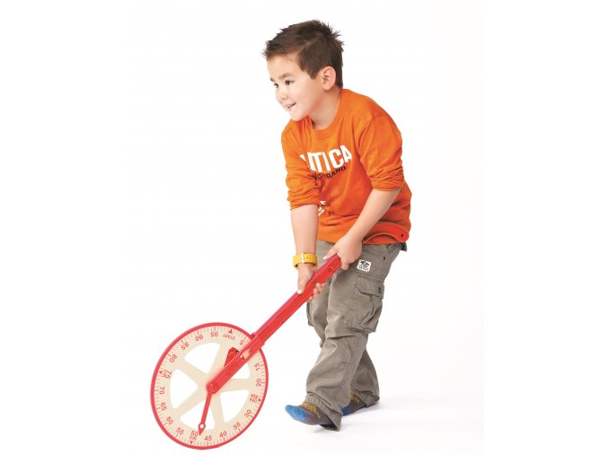 Kolový krokoměr s počítadlem / Meter Trundle Wheel With Counter