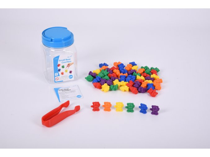 Small bear counters jar