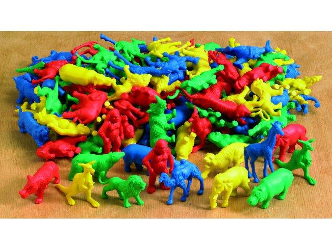 Třídicí divoké zvířata /sáček/ ( 120 ks) / Wild animal counters (120 pc)