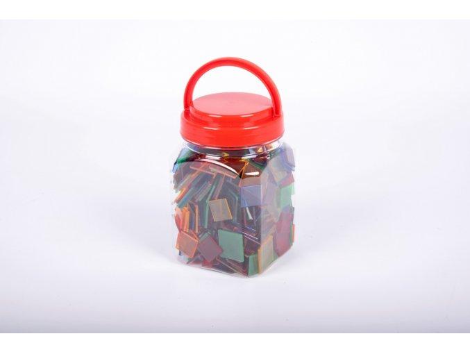 Translucent colour squares