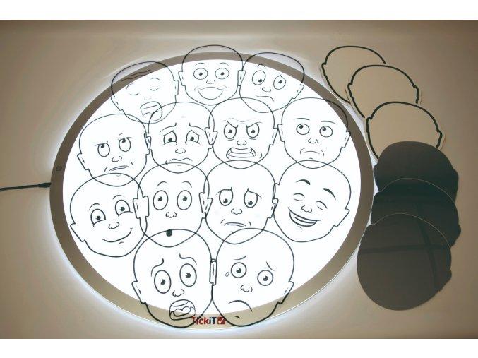 Obličeje - porozumění emocím / Uderstanding Feeling Pack