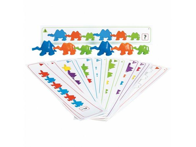 Spojovatelní velbloudi - Předlohové karty (20 ks) / Camel Sequencing Cards (20 pc)