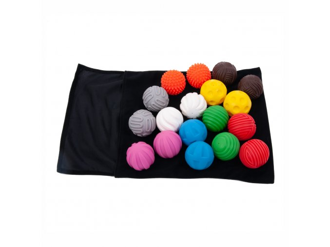 Sensorické míče (18 ks) / Discovery Ball Activity Set (18 pc)