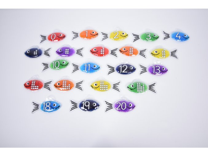 Rainbow gel number fish