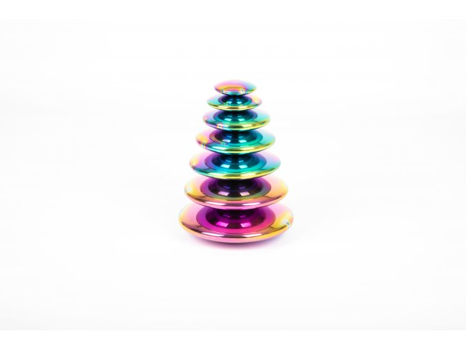 Smyslové reflexní duhové butony / Sensory reflective colour burst buttons