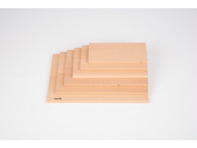 Přírodní panel obdélnik / Natural architect panels - Rectangular