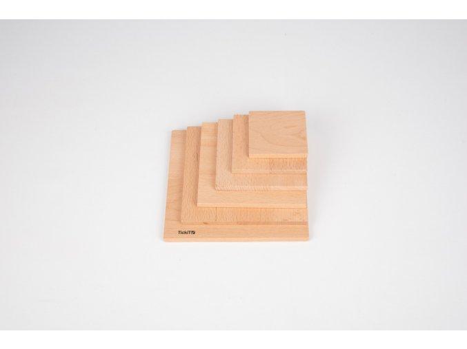 Přírodní panel čtverec / Natural architect panels - Square