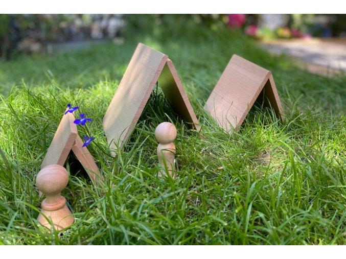 Přírodní panel trojuhelník / Natural architect panels - Triangular