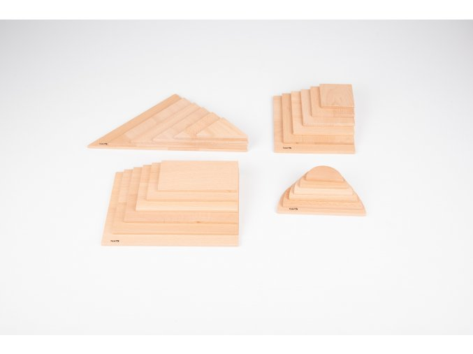 Natural architect panels - Set of all 4