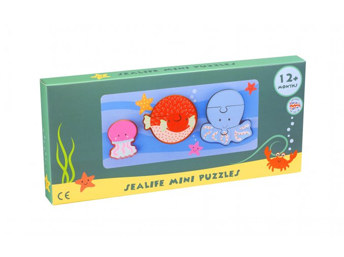 MINI PUZZLES SEALIFE PACKAGING