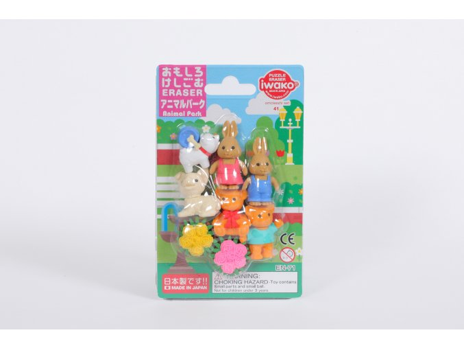 Gumy / Animal Park Set (9 PCS)
