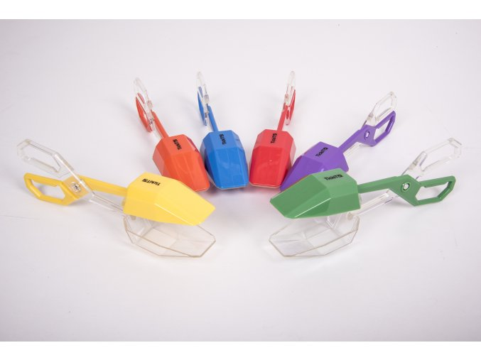 Duhové kleště 6 ks / Rainbow tongs pk 6