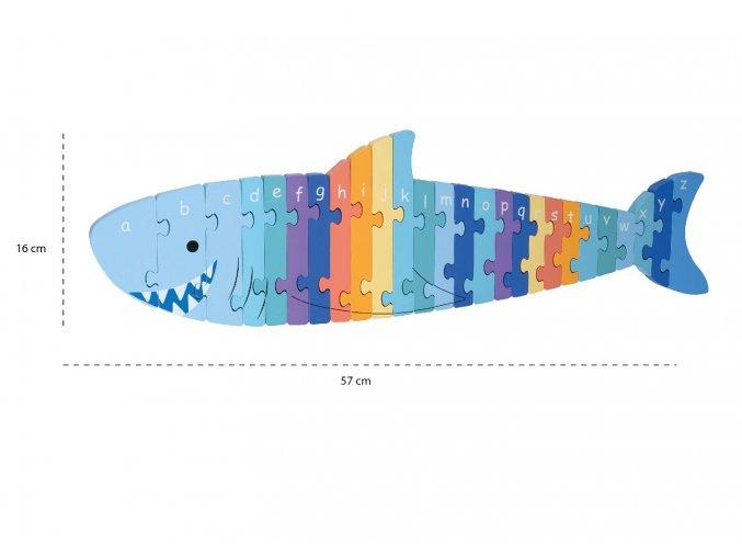 Shark Alphabet Puzzle 1