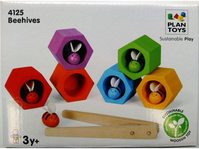 Plan Toys -Včelí úly
